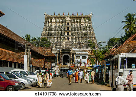 Pictures of Sri Padmanabhaswamy Temple Thiruvananthapuram,Kera.