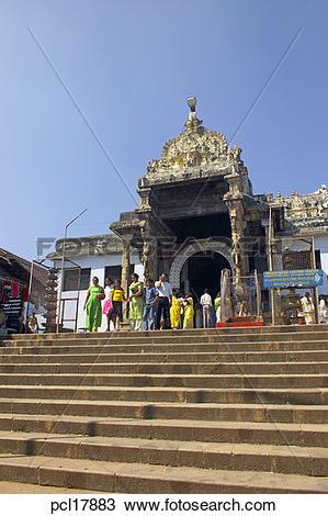 Stock Photo of Kerala, Trivandrum, Padmanabhaswamy pcl17883.