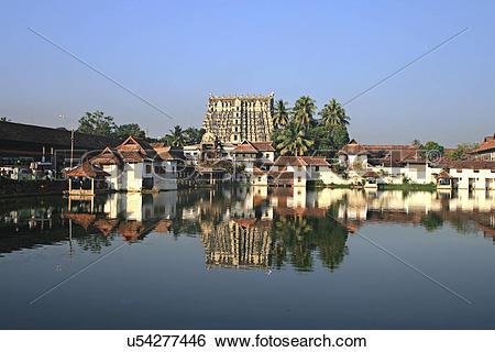 Stock Images of Sri Padmanabhaswamy Temple u54277446.