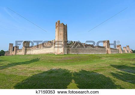 Stock Photo of Montagnana (Padova, Veneto, italy).