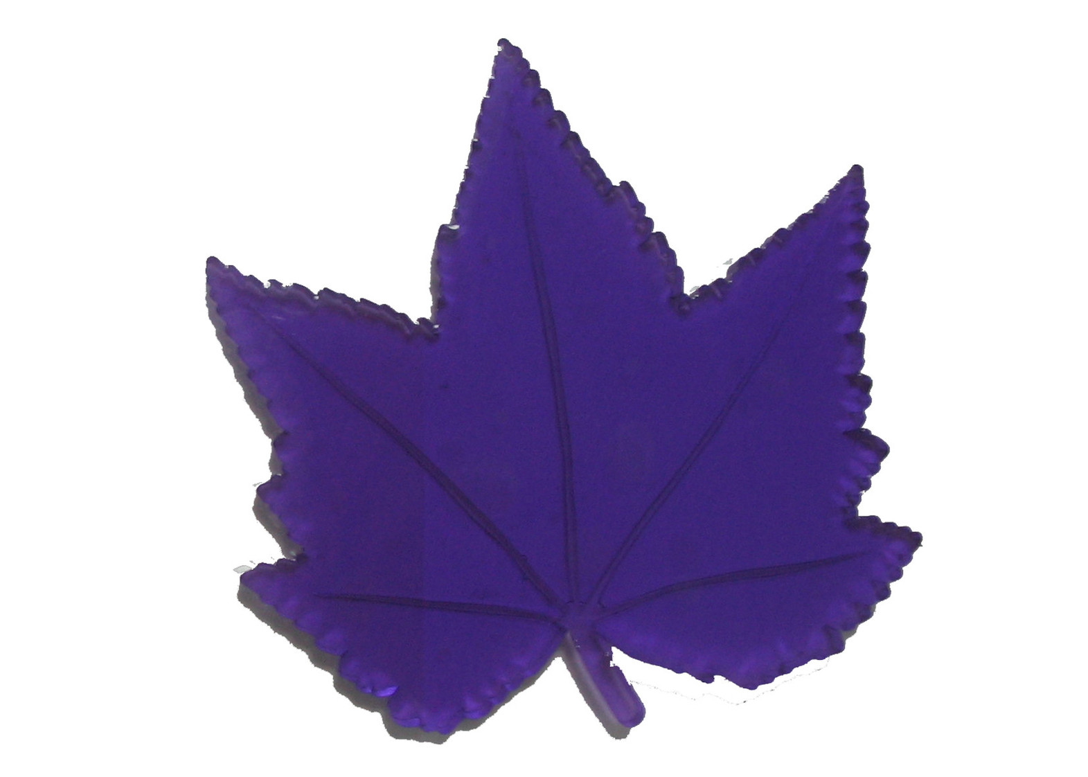 Stylish Leaf Shape Car Non Magnetic Sticky Pads For Cell Phone Klx.