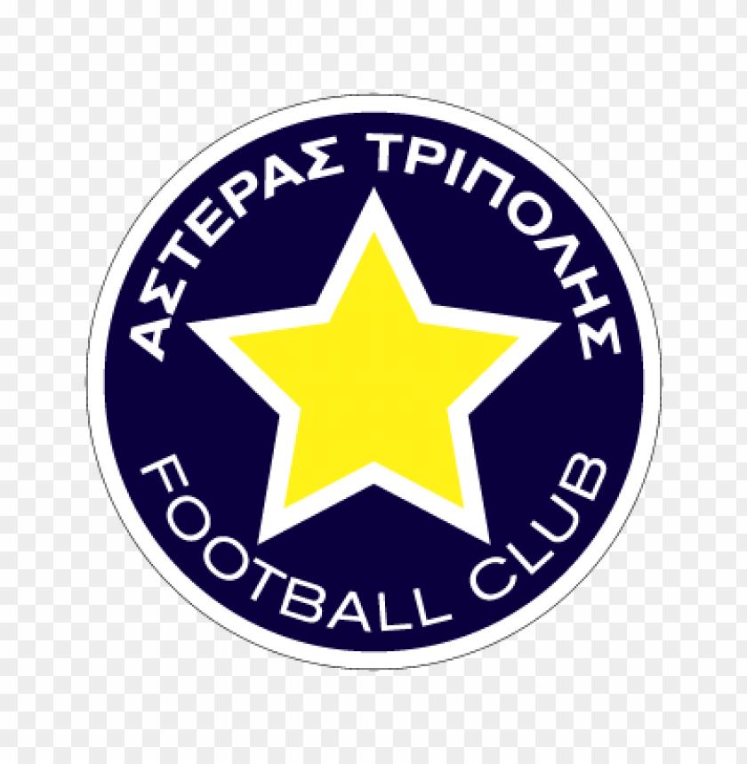 pae asteras tripolis vector logo.