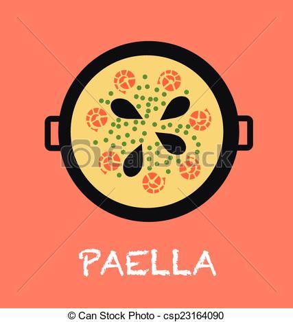 Paella Vector Clipart EPS Images. 206 Paella clip art vector.