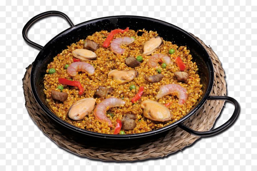Paella Dish png download.