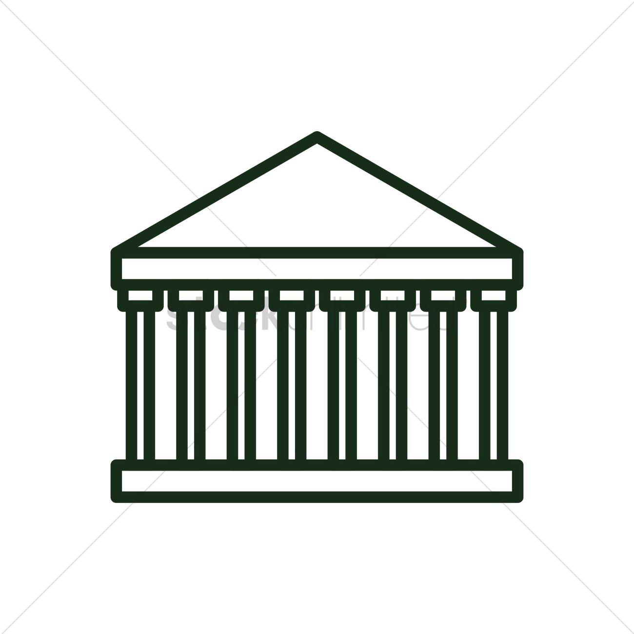 Paestum Vector Image.