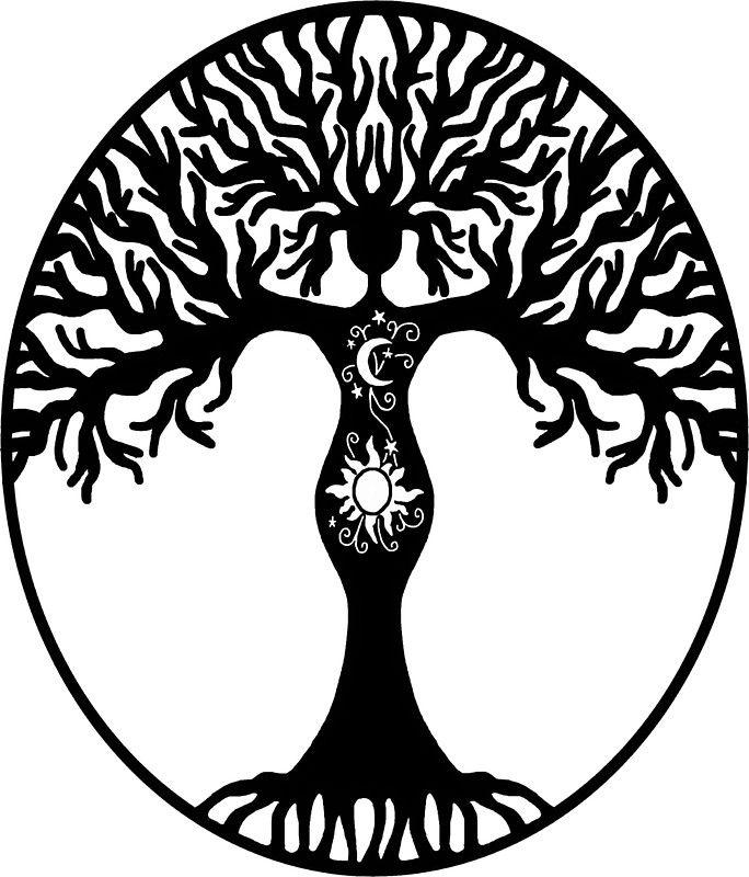 Pagan Goddess Tree.
