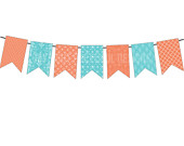 Items similar to Single Page Banner Clip Art Digital Orange and.