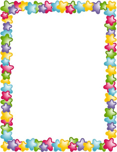 free color clipart photo frame borders #20