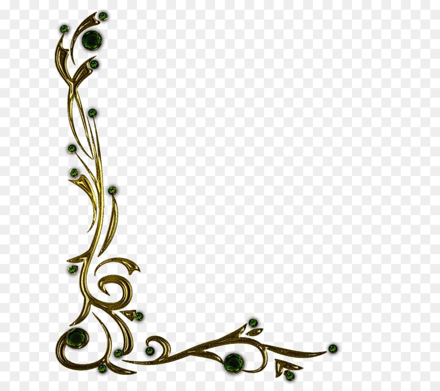Floral Decorative clipart.