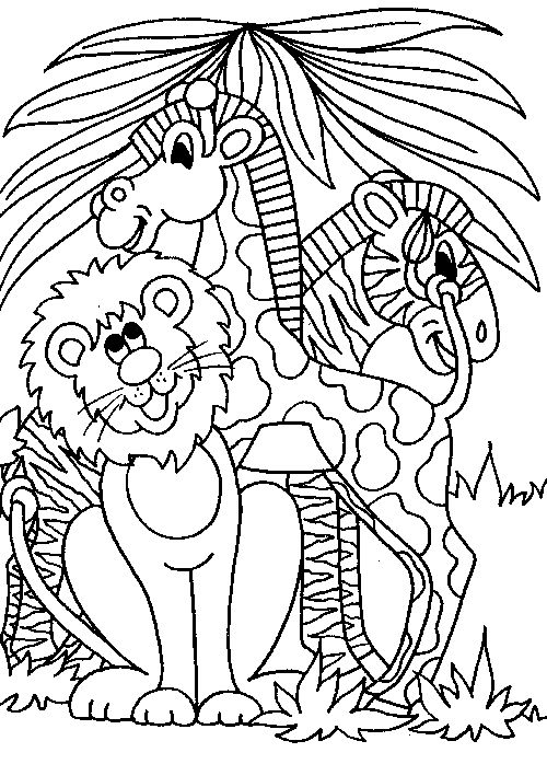 25+ best ideas about Animal Coloring Pages on Pinterest.