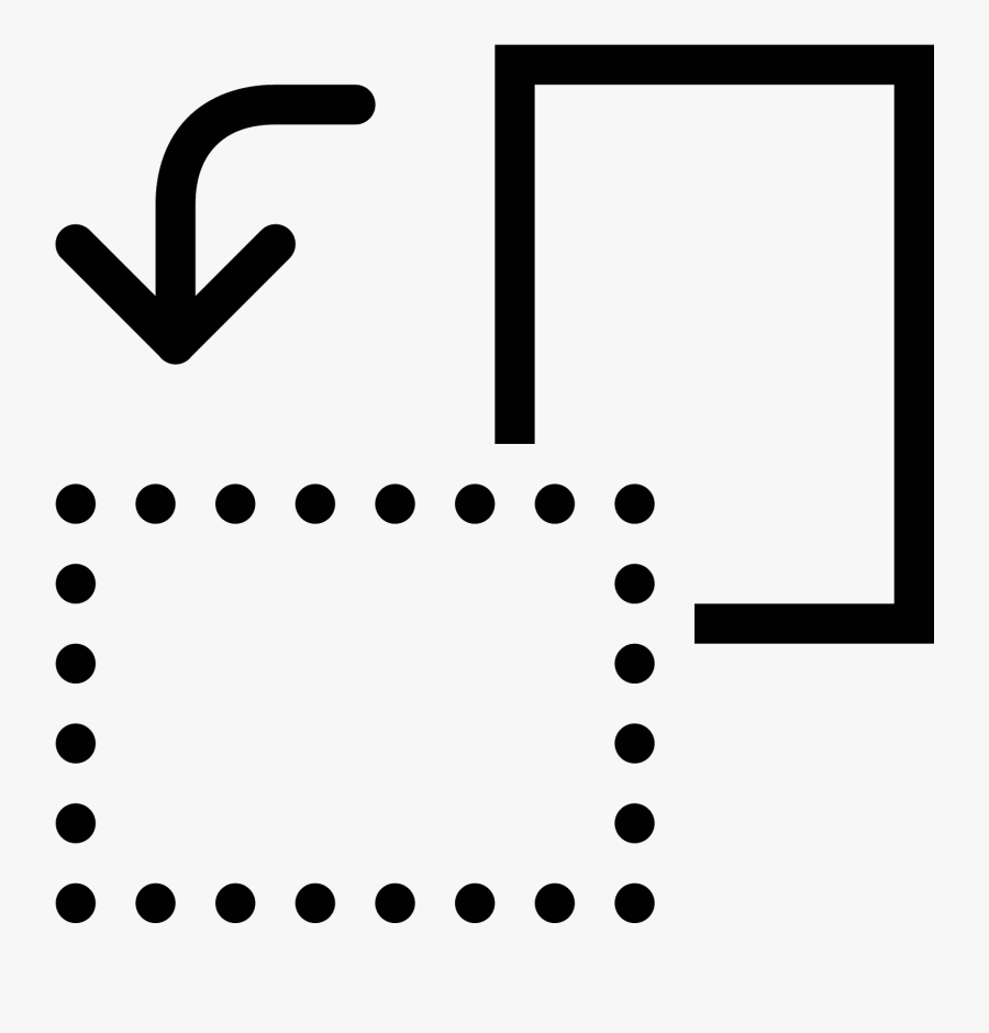 Rotate Page Counterclockwise Icon.