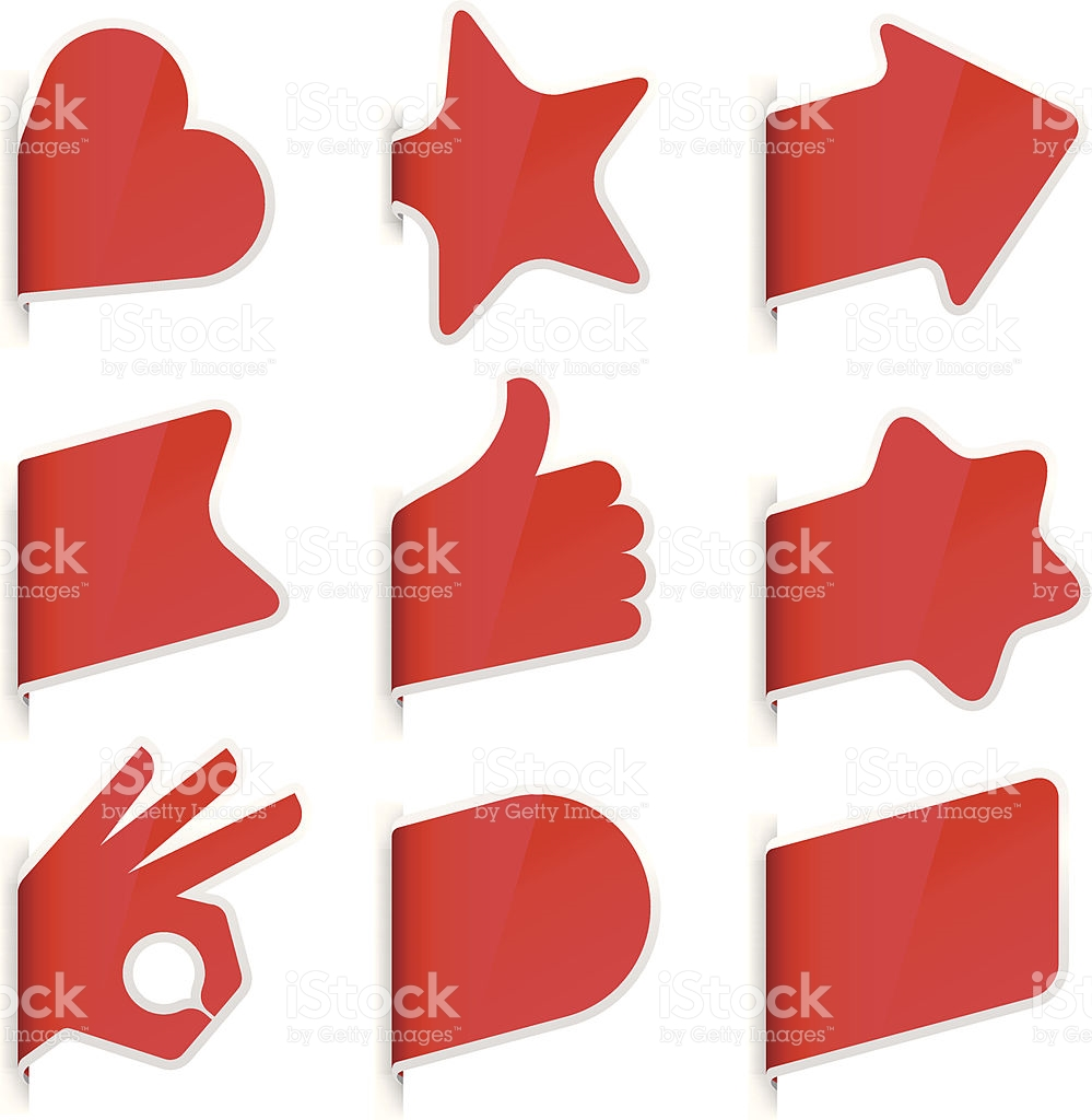Page Markers stock vector art 164480490.