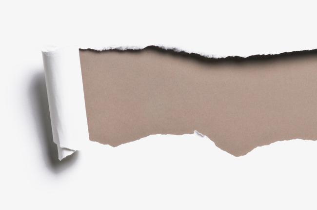 Shredded Paper Image, Web Page, Torn Edges PNG Transparent.