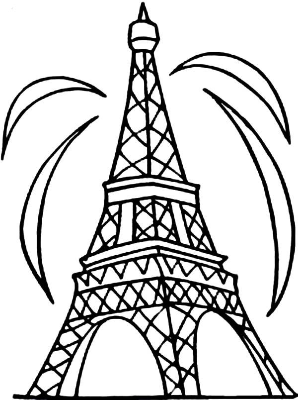 Eiffel Tower Clipart.