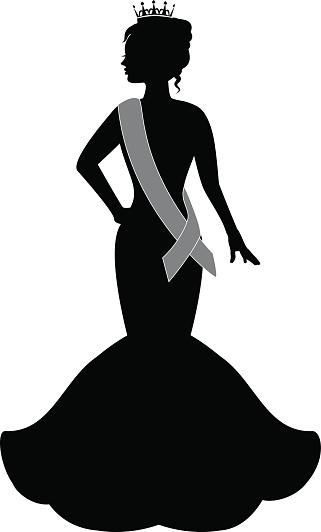 Beauty Pageant Clipart.