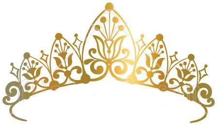 Pageant Crown Clipart Black And White.