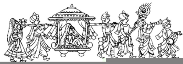 Hindu Wedding Card Cliparts Free Download.