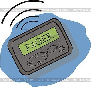 Pager clipart 6 » Clipart Portal.