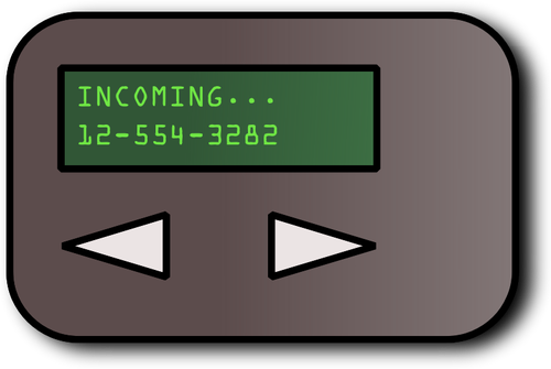 Simple pager.
