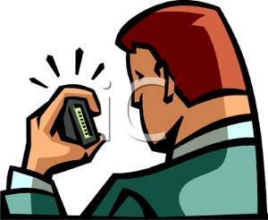 Pager 20clipart.