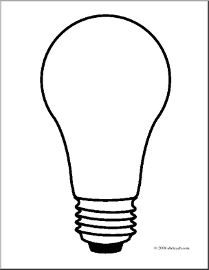 Light bulb free lightbulb clipart 2 pages of public domain clip.