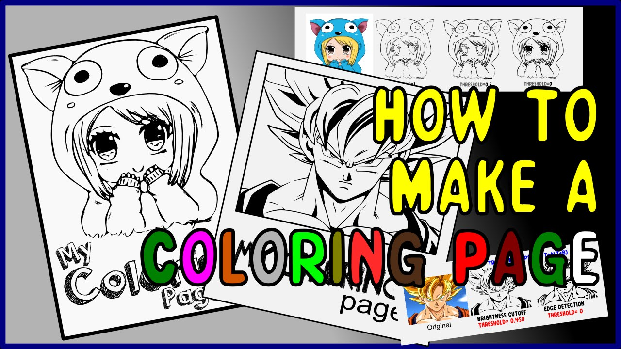 Tutorial: Coloring Pages in INKSCAPE.