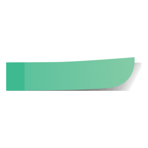 Marcador De Página Verde.