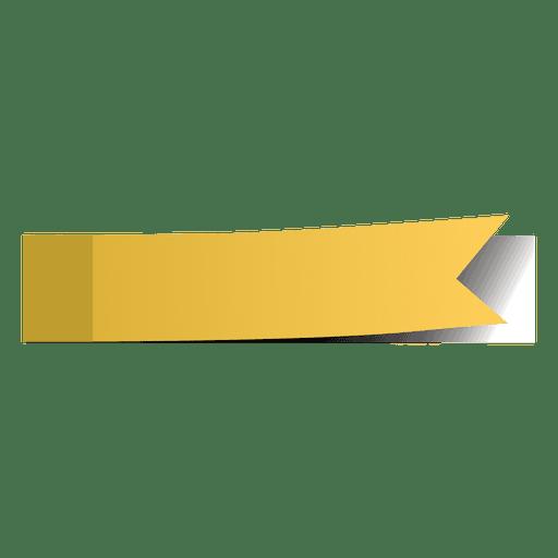 Etiqueta De Marcador De Página Amarilla #109850.