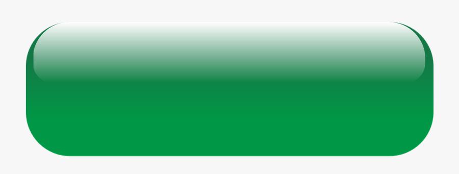 Transparent Green Button Clipart.