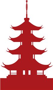 Chinese Pagoda Clipart.