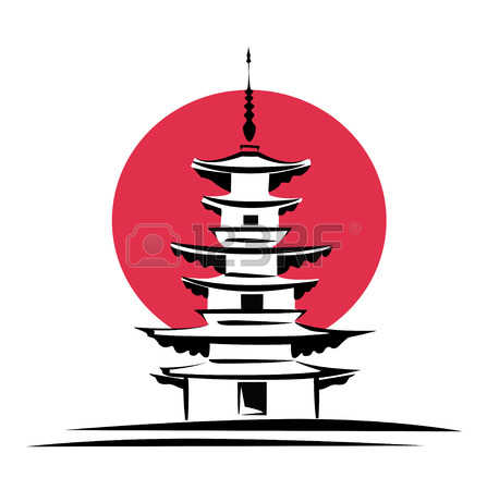 1,871 Chinese Pagoda Stock Vector Illustration And Royalty Free.