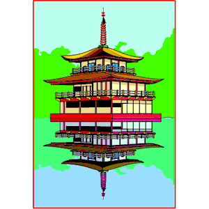 Pagoda clipart, cliparts of Pagoda free download (wmf, eps, emf.