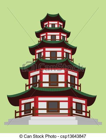 Pagoda Clipart Vector Graphics. 2,311 Pagoda EPS clip art vector.
