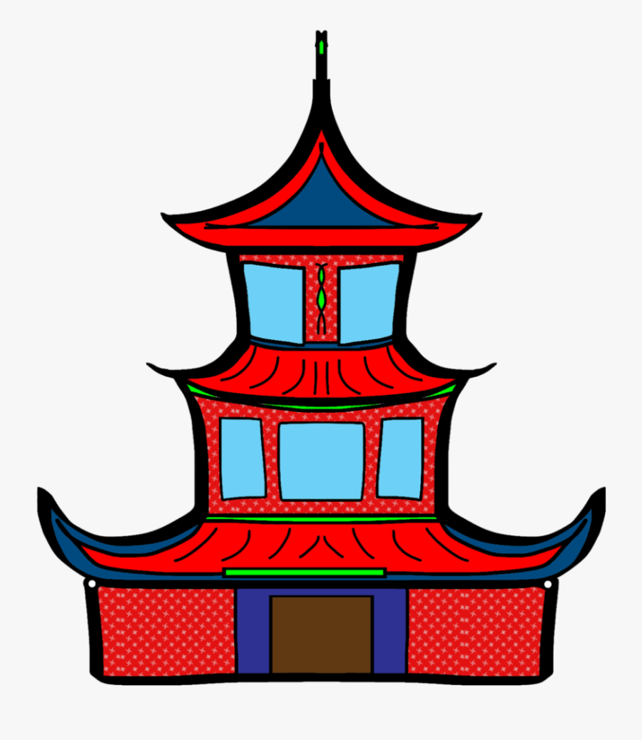 Pagoda Clipart Chinese.