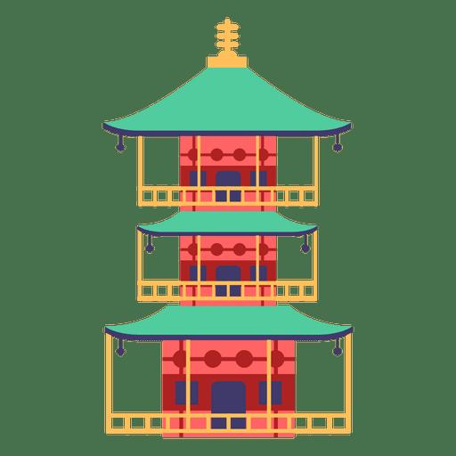 Pagoda japanese house.