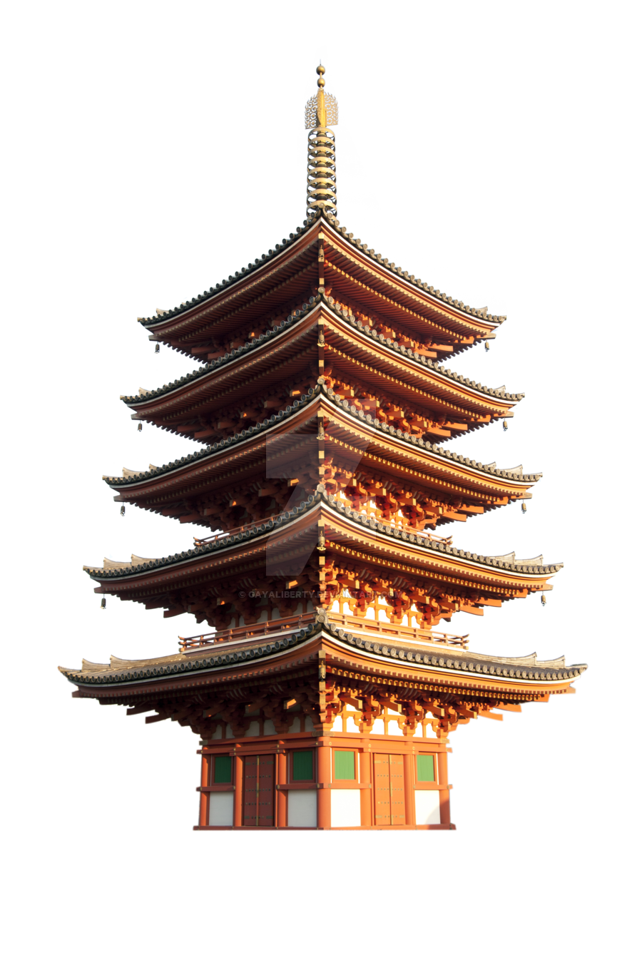 Pagoda png by gayaliberty on DeviantArt.