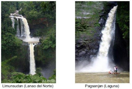 Pagsanjan Falls Clipart.