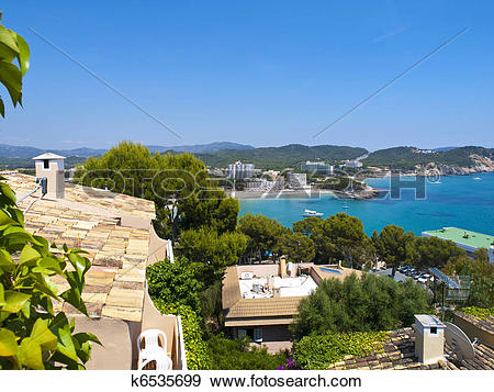 Stock Photograph of Paguera Beach, Mallorca k6535699.
