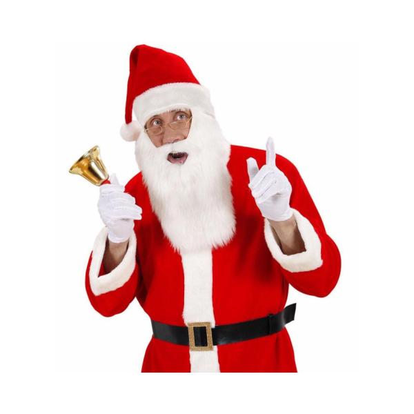 Gorro Pai Natal com Barba.