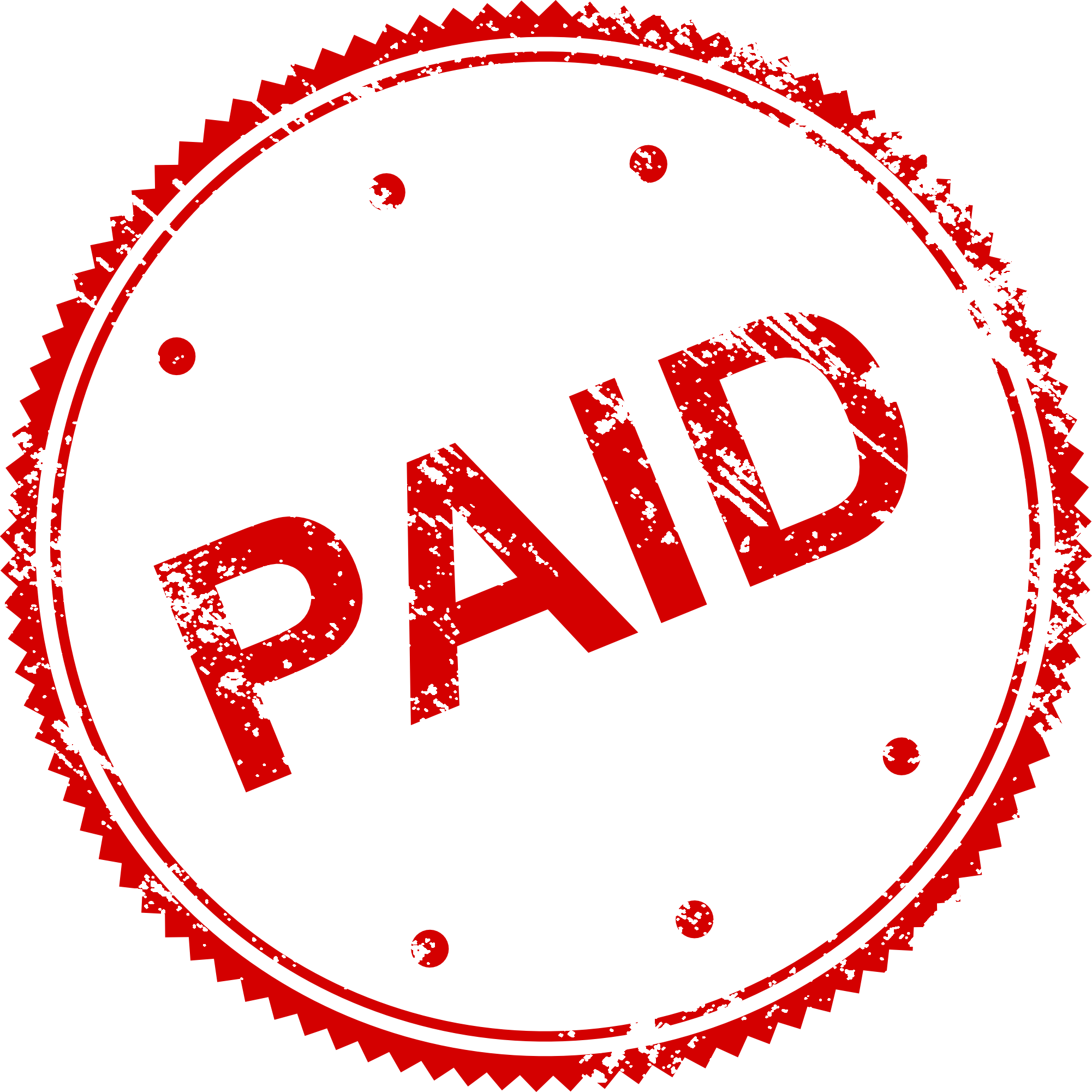 4 Paid Stamp Vector (PNG Transparent, SVG).