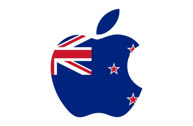 Apple paid taxes from New Zealand revenues to Australia for the.