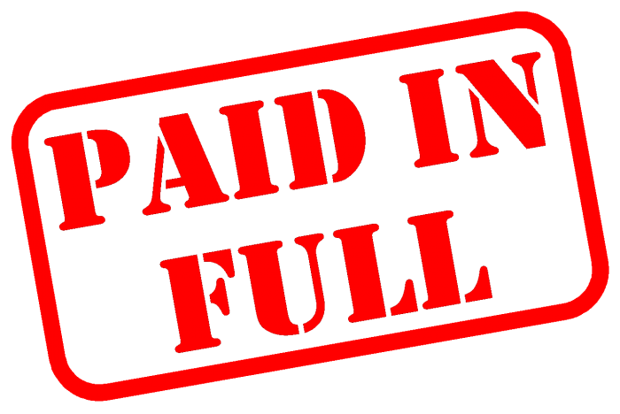 Paid In Full Stamp Png Vector, Clipart, PSD.