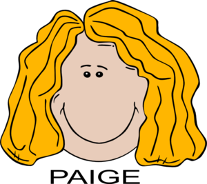 Paige Clip Art at Clker.com.