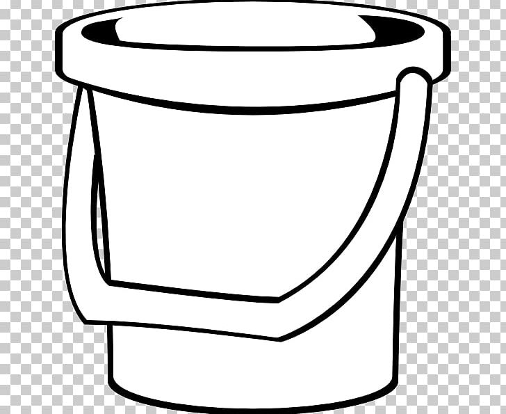 Bucket Pail PNG, Clipart, Angle, Area, Black And White.