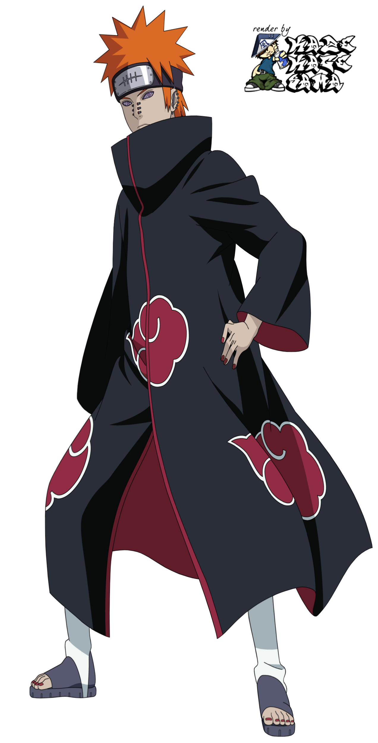 Naruto Pain PNG Images Transparent Free Download.