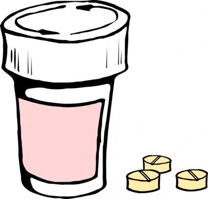 Pills And Bottle clip art clip arts, free clipart.