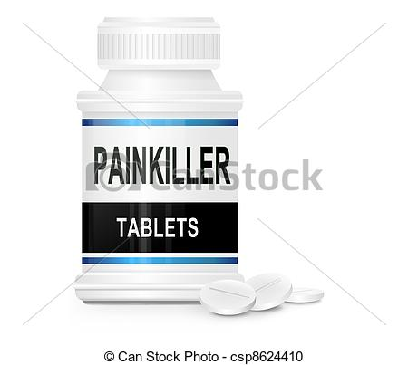 Drawing of Painkiller concept..