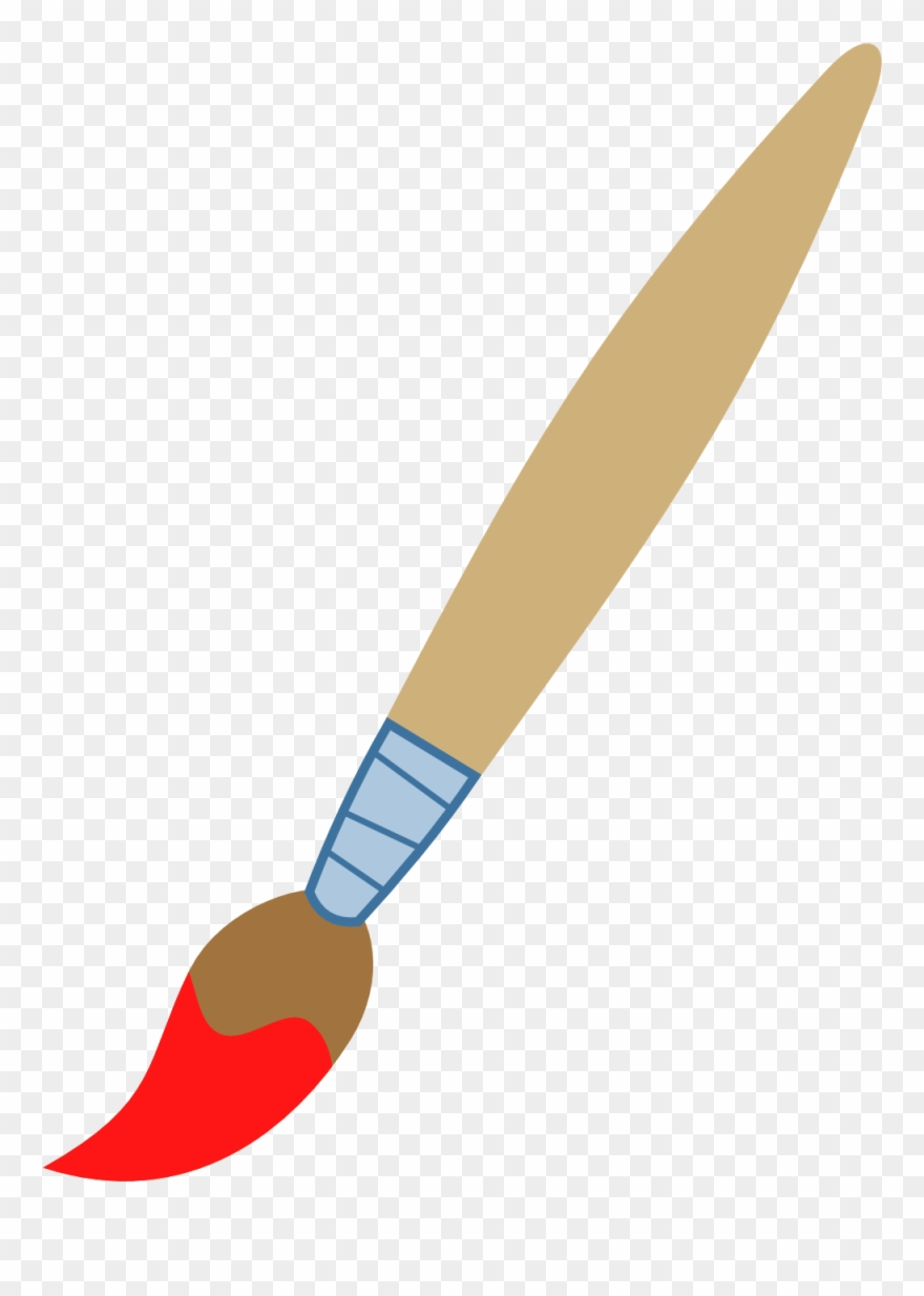 Paintbrush Clip Art.