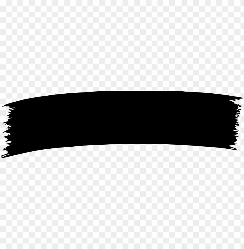 black paint banner clip art png.