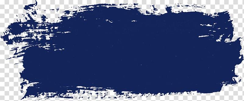 Blue paint illustration, Microsoft Paint Web banner, SPLASH.